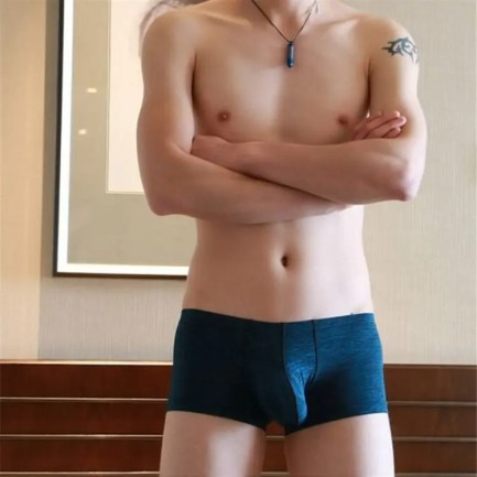 Full Coverage Boxer Shorts with Extended Pouch