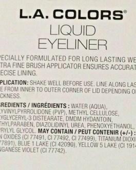 L.A. Colors Liquid Eyeliner