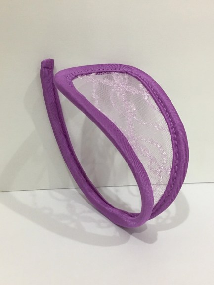 Strapless Lace C-String Thong