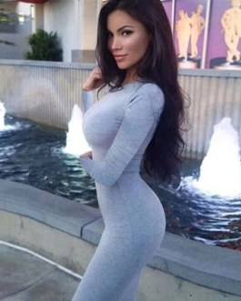 Bodycon Long Sleeve Dress In Black or Gray
