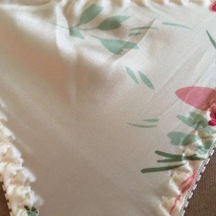 100% Silk Thong Panties