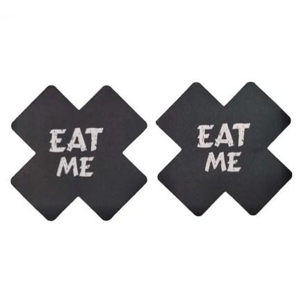 Pasties Eat Me Black