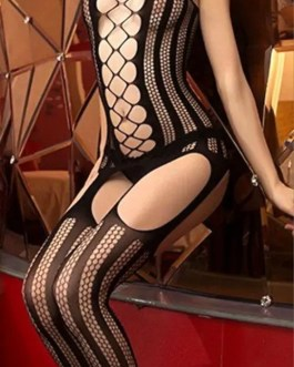 Versatile Fishnet Garter Stocking Bodystocking Lingerie Teddy