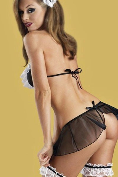 French Maid Lingerie Set
