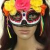 The Day of the Dead (Spanish: Día de Muertos) Mask Halloween