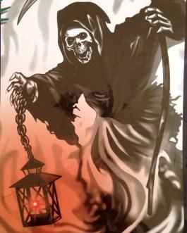 Lighted Halloween Door Covers – Various Styles