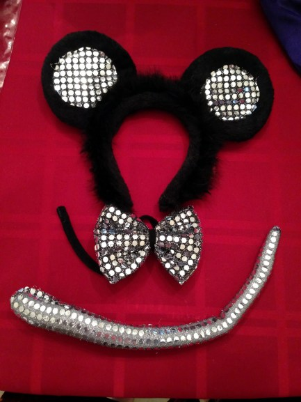 Mouse Costume Accessory Set