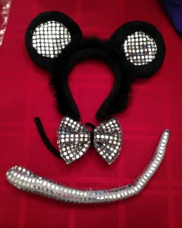 Mouse Character Accessory Set