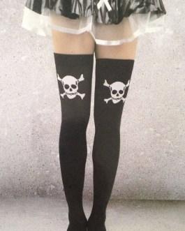 Halloween Knee High Socks, Various Styles One Size