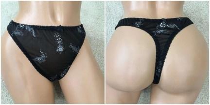 sexy ellemenno thong panties