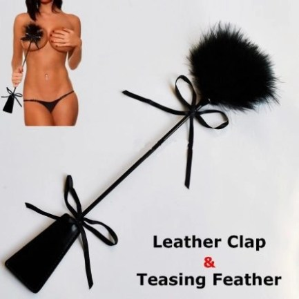 Feather tickler and paddler