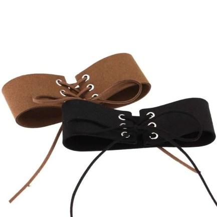 elvet Punk Style Collar - Leg Garter