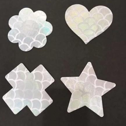 Nautical Theme Pasties Nipple Stickers