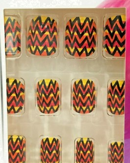 Sassy + Chic Fashion Nails-12 pieces-Nail Art-Fun & Easy Glue On Nails 4 Style Choices