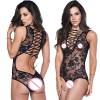 Sexy Lace Up One Piece Teddy