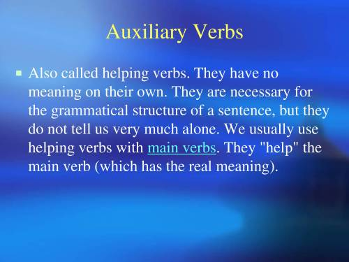 small resolution of PPT On Modal Auxiliaries Verbs - PowerPoint Slides