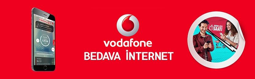 Vodafone Bedava İnternet Kampanyası 2019