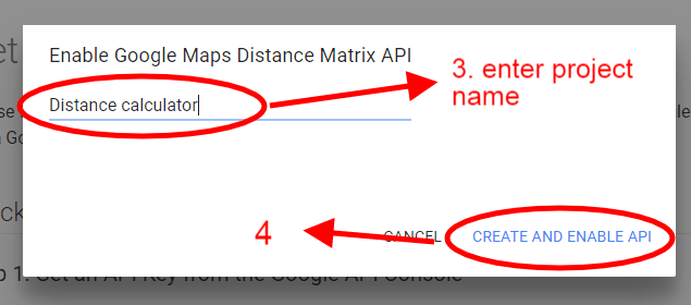 Find Distance Between two Addresses using Google API and PHP - My
