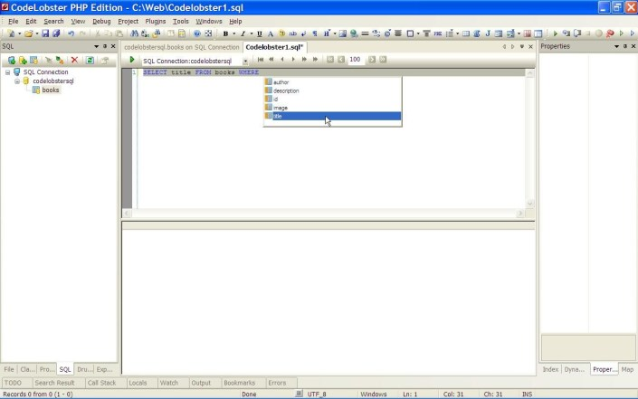 CodeLobster php editor