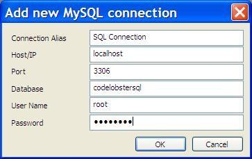 SQL Manager in CodeLobster PHP IDE