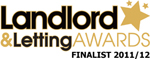 Landlord & Lettings Awards 2011 - MyPropertyPowerTeam.co.uk - Finalist - Best Website