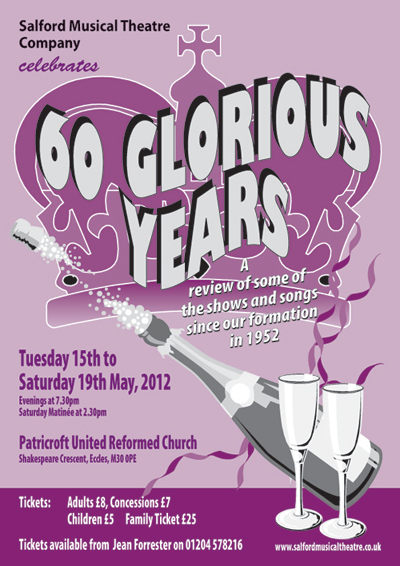 Salford Musical Theatre Company celebrate 60 Glorious Years!