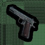 arme a feu pubg M1911