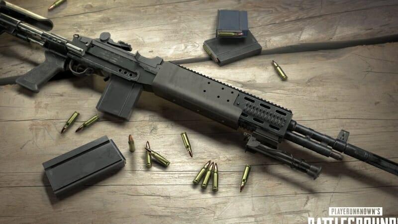 Nouvelle arme PUBG: Mk14 EBR