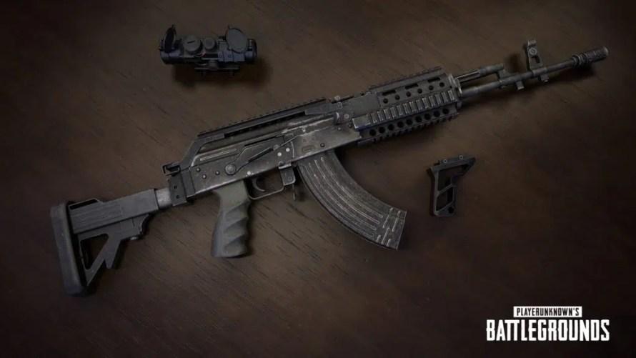 Nouvelle arme dans PUBG, le Beryl M762