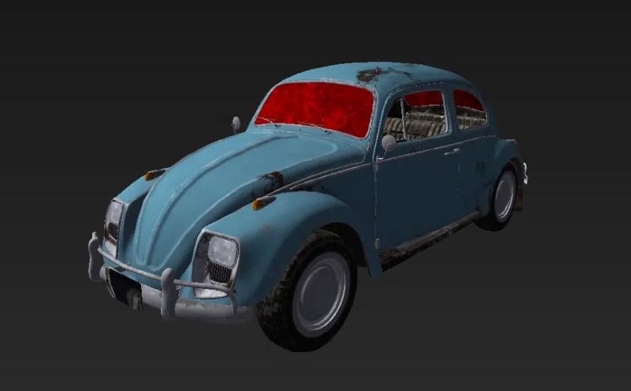 Nouvelle voiture de PUBG: La Coccinelle @New Beetle #VW