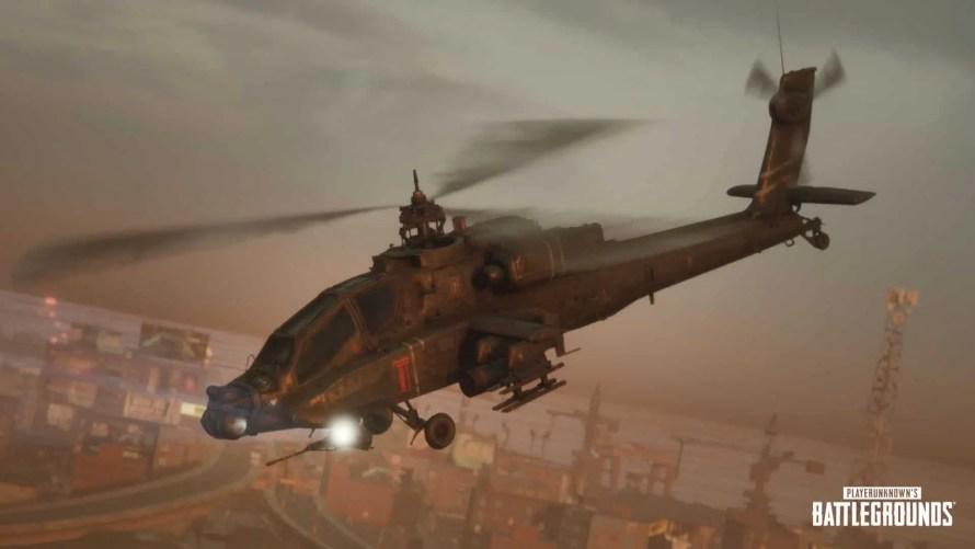 Hélicoptère de reconnaissance de Pillar