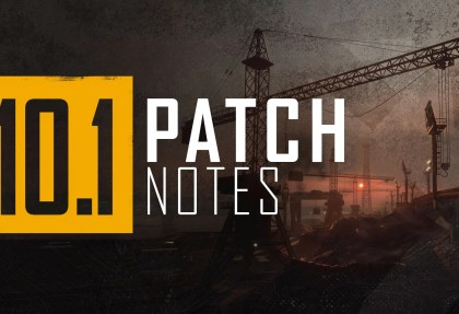 PUBG PC Update 10.1 - Patch Notes