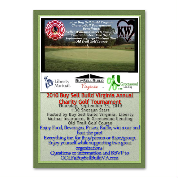 2010 Buy Sell Build Virginia Annual Charity Golf Tournament