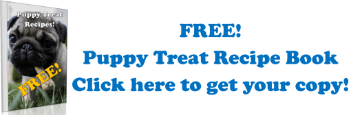 free puppy treat recipe book