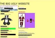 cum nu trebuie sa arate un website ugly website
