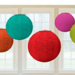 Fiesta Paper Lantern Colorful Cinco De Mayo
