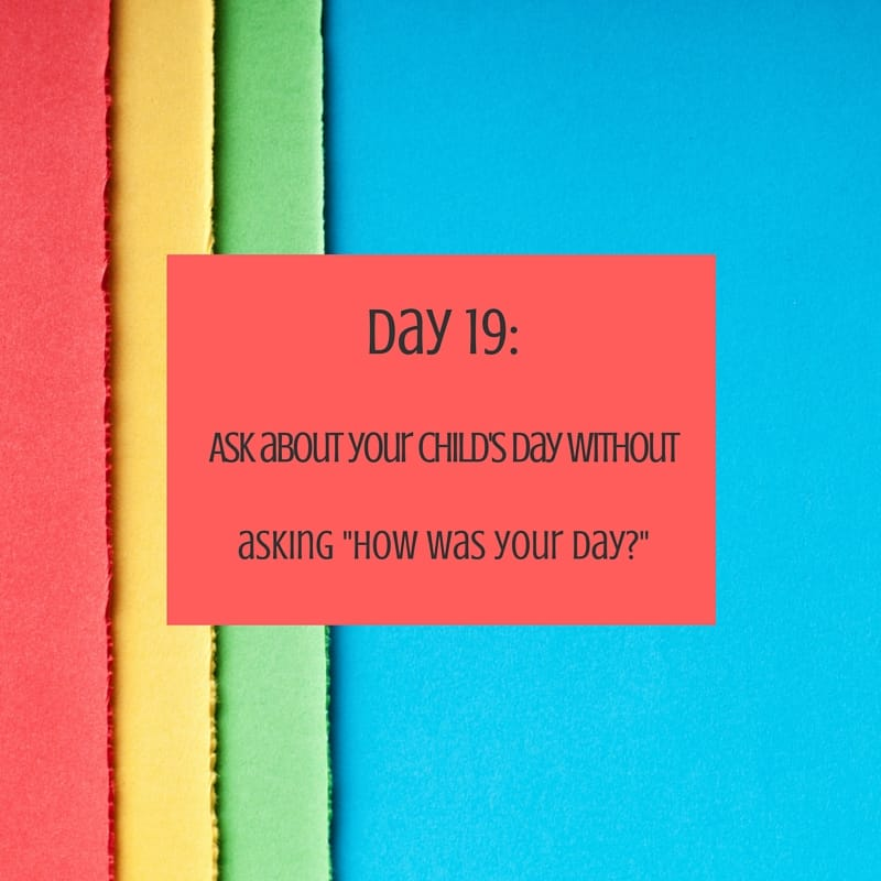 30 day challenge day 19