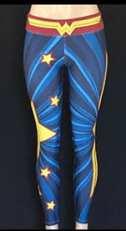 Wonder Woman Magic Pants