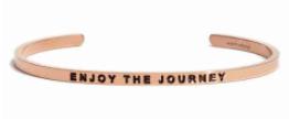 MantraBand Enjoy the Journey Rose Gold Gift