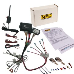 Bulldog Deluxe 500 Wiring Diagram Uml Use Case Visio 2013 Remote Start And Keyless Entry Fits Select Chevy Gmc 2002