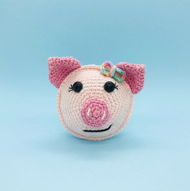 crochet pattern marcelline little pig