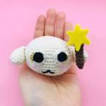crochet pattern amigurumi rice ball fairy mélusine