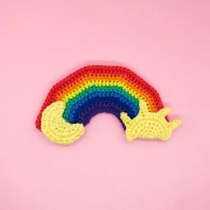 pattern crochet amigurumi rainbow