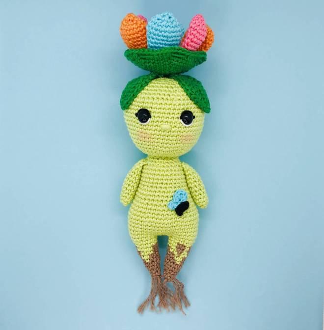 crochet pattern sam flowers spirit