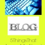 5 Things That Annoy Me About Blogging!