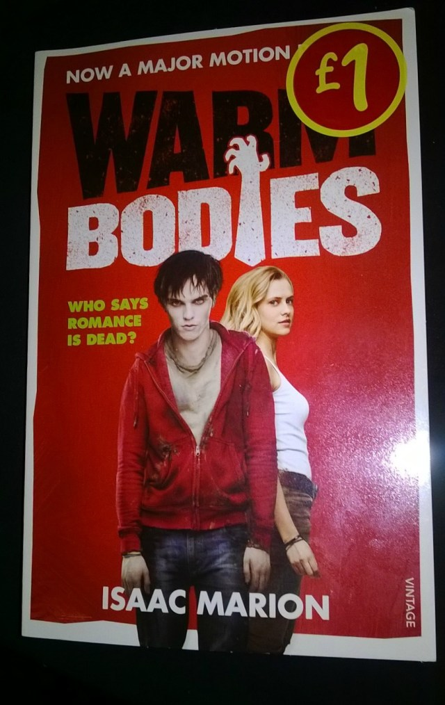 Book Review: Warm Bodies by Isaac Marion - My Random Musings