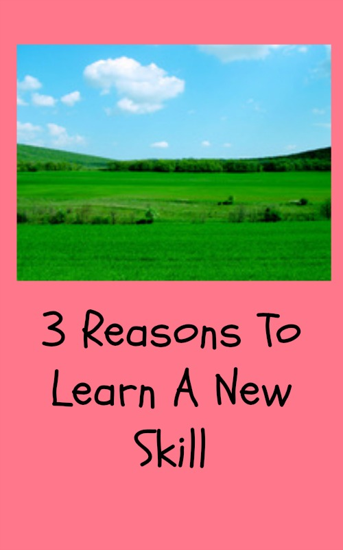 3 Reasons To Learn A New Skill