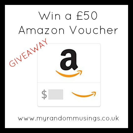 #Giveaway - Win a £50 Amazon Voucher