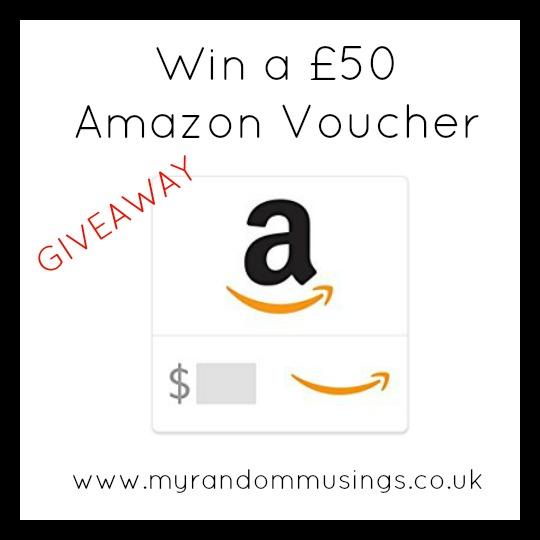 #Giveaway - Win a £50 Amazon Voucher