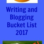 2017 Blogging and Writing Bucket List Update